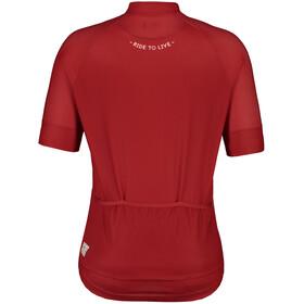 Maloja PlansM. Shortsleeve Bike Jersey Men red poppy